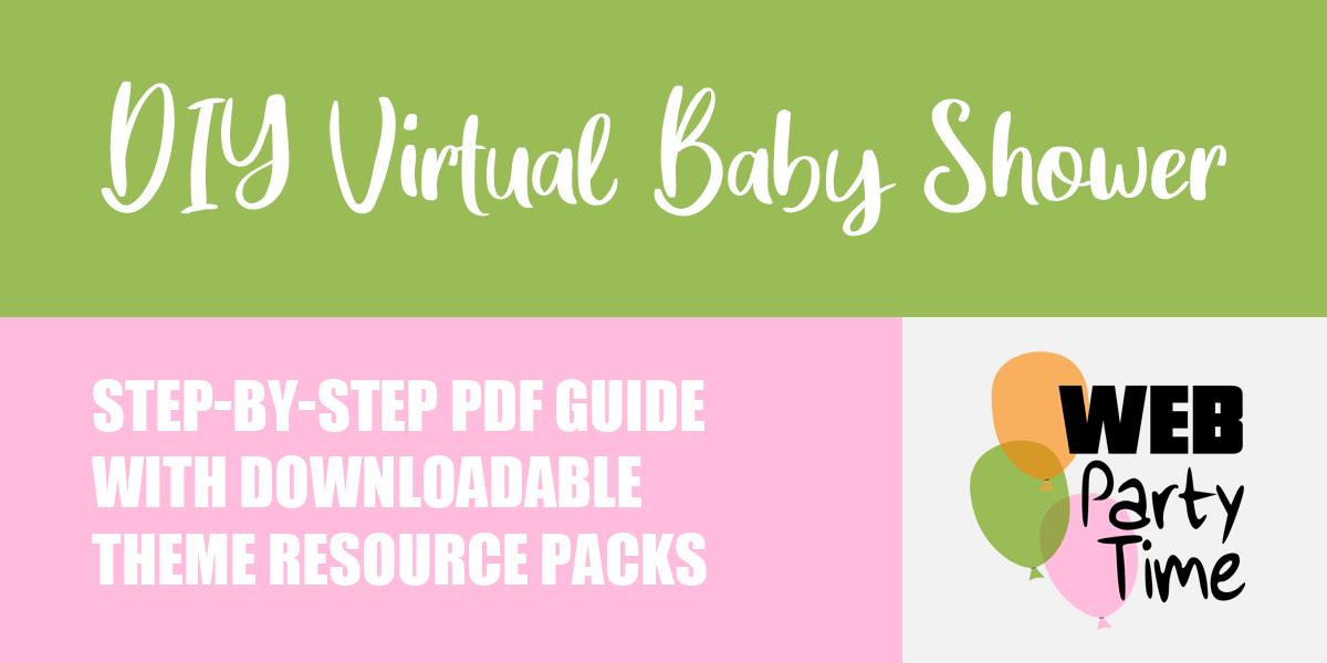 DIY Virtual Baby Shower